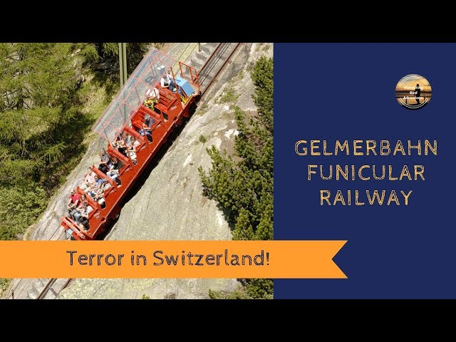 TERROR in SWITZERLAND! Gelmerbahn Funicular - Motorhome Tour Europe - Wandering Bird Adventures