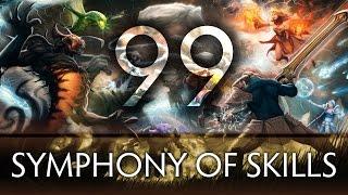 Dota 2 Symphony of Skills 99