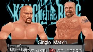 WCW Wrestlemania 2000 (WWF Wrestlemania 2000 Mod) Released + Steve Austin vs Goldberg Match