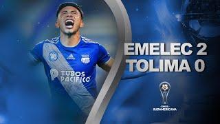 Emelec vs. Deportes Tolima [2-0]   RESUMEN   Fecha 5   CONMEBOL Sudamericana 2021