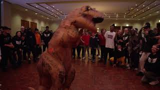 Luther Brown | Rolex - Ayo & Teo | T-Rex Solo | Take Flight Halloween Intensive 2017 Video