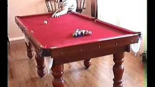 BILLIARDS WORLD RECORD SHOT - POOL - SNOOKER - 8 BALL