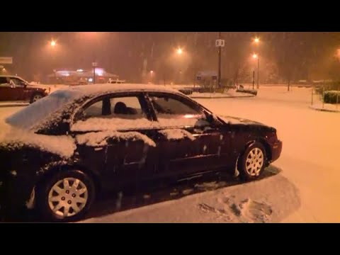Snow makes for messy morning commute in western Maine