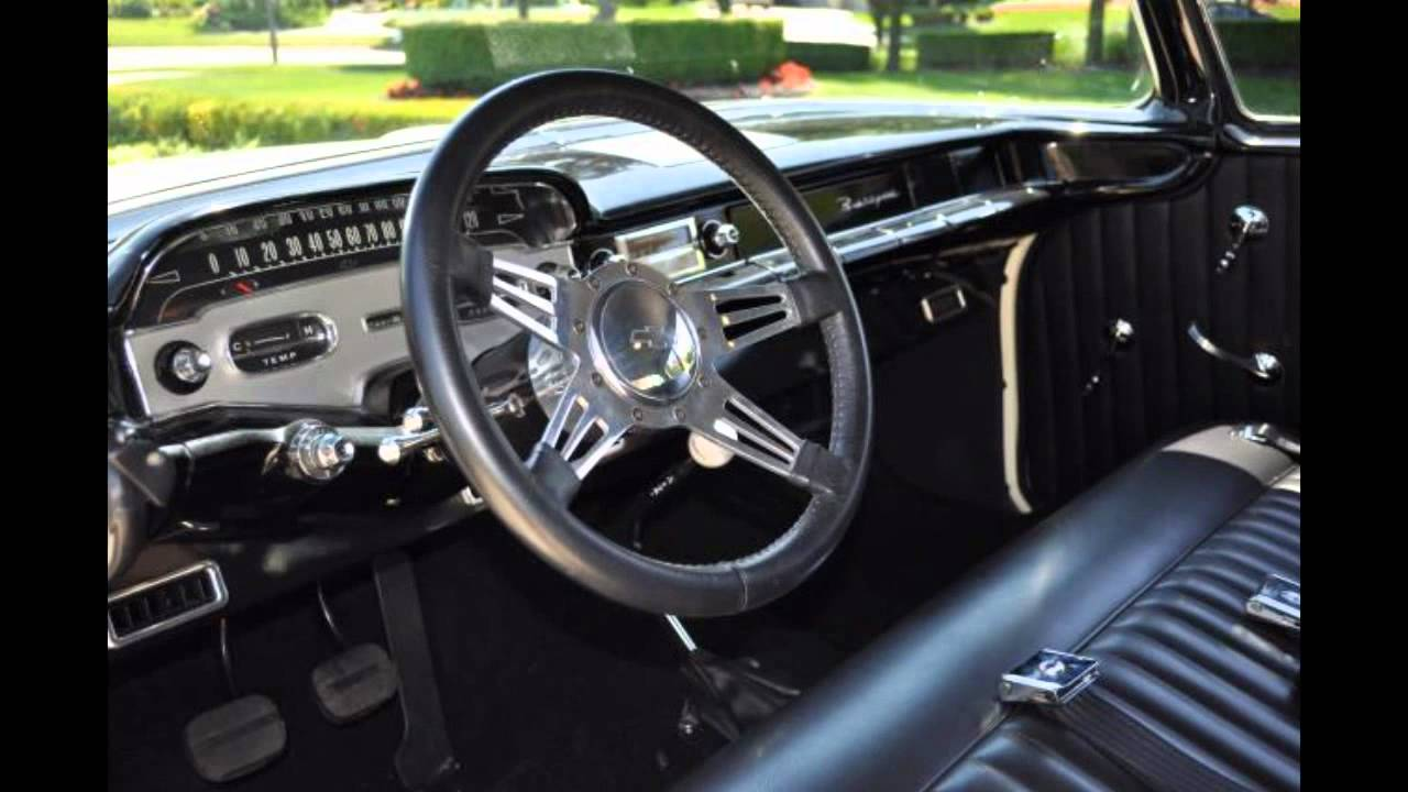 1958 Chevy Biscayne 4 Speed Classic Muscle Car For Sale In Mi Vanguard Motor Sales Youtube