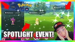 LIVE! NEW SPOTLIGHT HOUR EVENT IN POKEMON GO! INCREASED POKEMON SPAWNS! EARLY ACCESS!