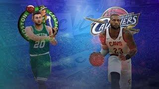 NBA 2K18 Rosters PC │Cavaliers vs Celtics Gameplay