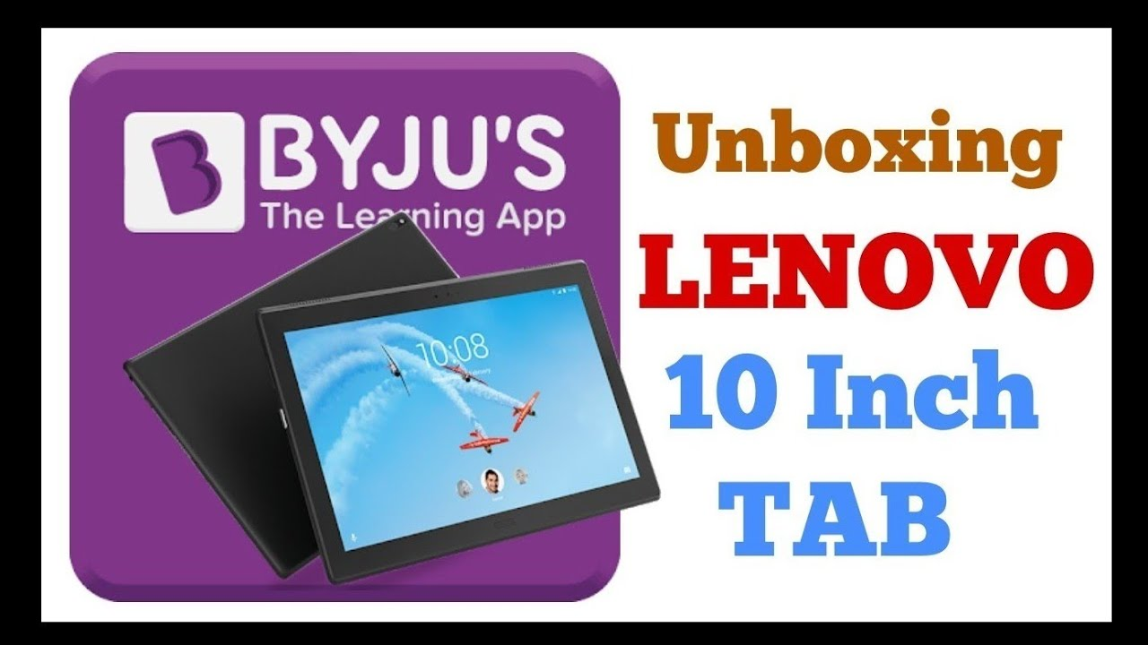 Byju's Learning App Kit with Lenovo Tab 4 10 HD | Dolby Atmos | Unboxing