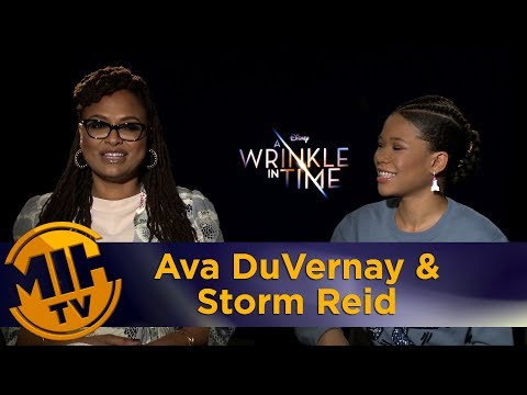 A Wrinkle in Time Ava DuVernay & Storm Reid Interview