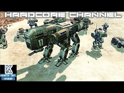 Command & Conquer 3 Tiberium Essence - Skirmish - Brutal AI =1= Битва за Арракис