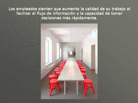 Fotos de dise o de oficinas abiertas interiores de casas for Interiores de casas bonitas