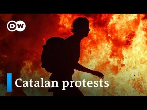 Barcelona protests: Who