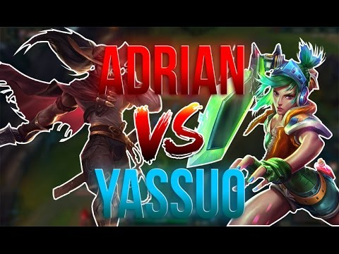 Adrian Riven vs Yassuo Friendliest game ever? Stream highlights 2