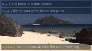 Isa Lei - The Fijian Farewell Song with English Translation and English Version (Revised)