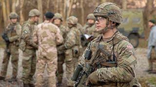 Erfarne soldater uddanner det nye hold