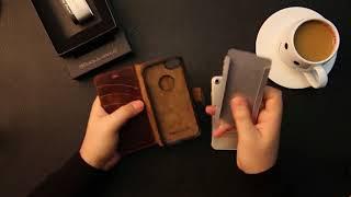 Bouletta Magnet Wallet Leather Case
