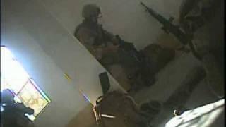 Sniper Starts Firefight in Ramadi 1/6 Alpha co.
