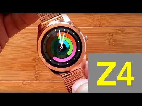 Z4 Metal Band Tethering Smartwatch: Unboxing and Review