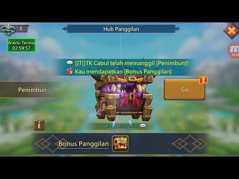 Lords Mobile: ]T[ GUILD BASH - Summon Monster || Lihat Menit Ke Sekian Anda Akan Tercengang!!