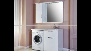 видео Тумба с раковиной под стиральную машину