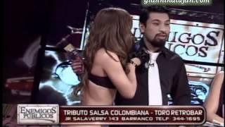 Giannina Lujan y exuberantes modelos colombianas lucen lo último en lencería [17-08-2012]