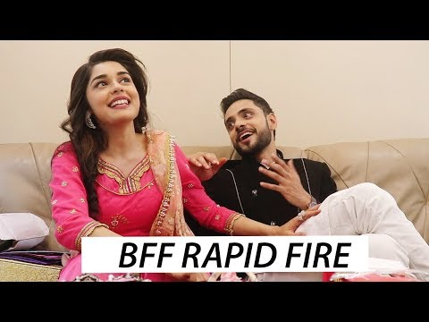 Eisha Singh & Adnan Khan's ULTIMATE Rapid-Fire   Ishq SubhanAllah