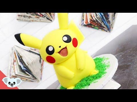 Pikachu Cake | Pokemon Party Ideas