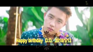 Happy Birthday EXO D.O.(kyungsoo)도경수 ~2018/01/12 ~ Ⅱ