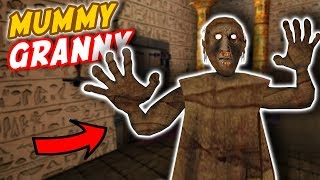 Mummy Granny BUILDS A *NEW* EGYPTIAN HOUSE!!! | Granny The Mobile Horror Game (Mods)