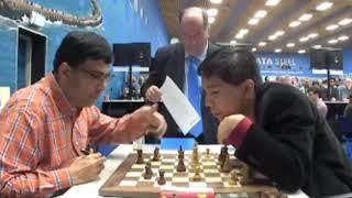 SACRIFICE BISHOP!! Wesley So vs Viswanathan Anand    Tata Steel Chess 2020 - R2