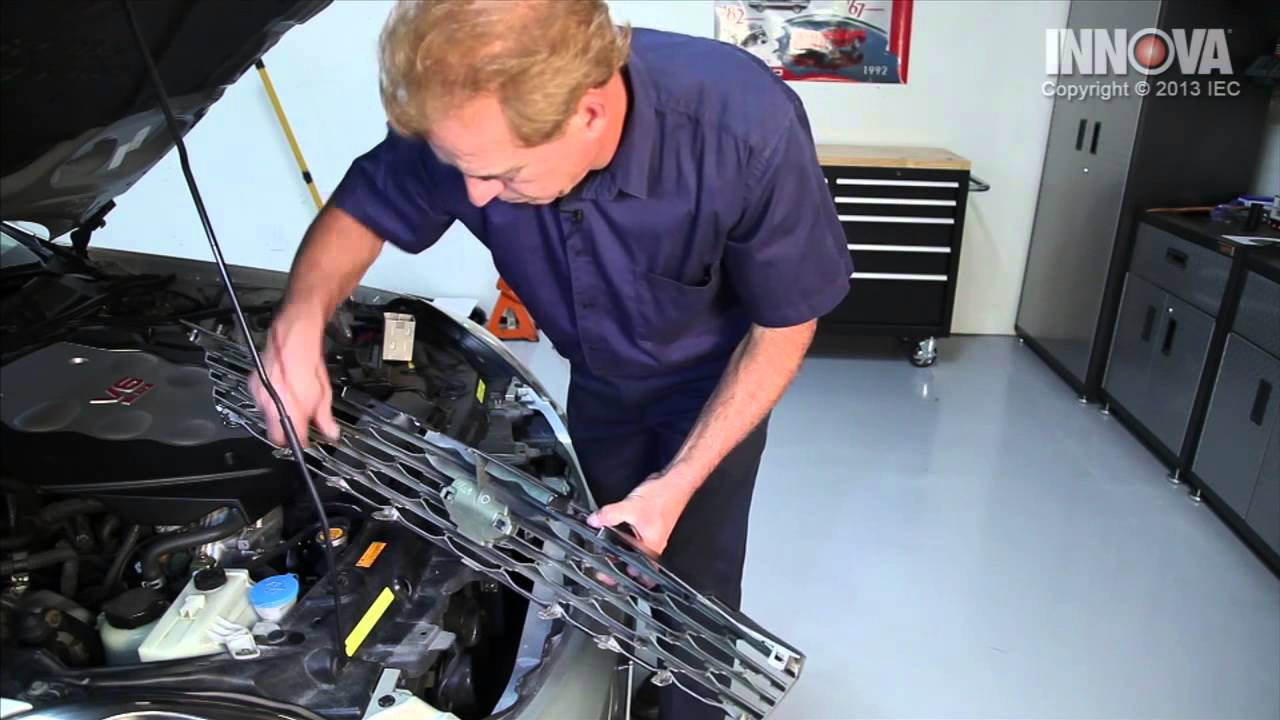 How to change Ambient Air Temperature Sensor  2005