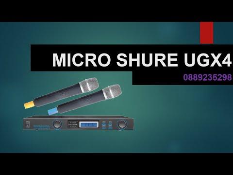100+ mẫu micro Shure không dây, micro Shure có dây chính hãng 3