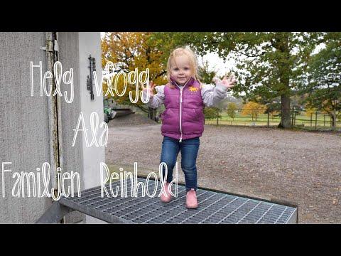 Helg vlogg ala Familjen Reinhold  -  14 oktober 2017