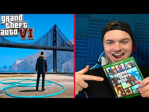 "Playing GTA 6 Early! ""Stolen Copy"" Exploring The World (GTA 6 Gameplay)"