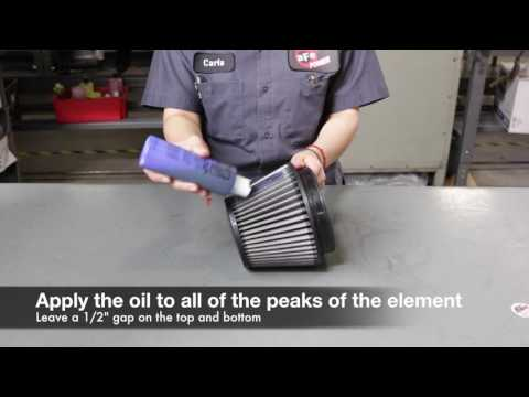How to clean an aFe POWER Pro 5R Universal Air Filter