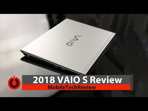 2018 Vaio S Review - the 1kg Ultrabook with Horsepower and Ports