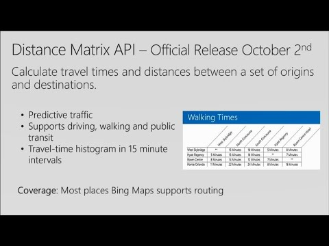 Adding location intelligence to your apps with Bing Maps Enterprise - BRK2390