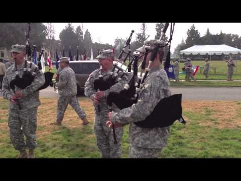 The Pipes and Drums of the 191st Army Band