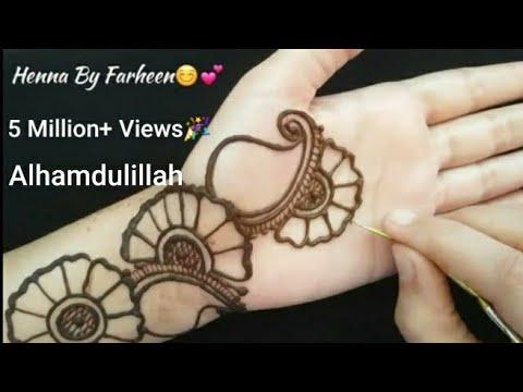 Front Hand Indo Arabic Mehndi Designs Latest Arabic Mehndi Designs म ह द ड ज इन Inai Kina