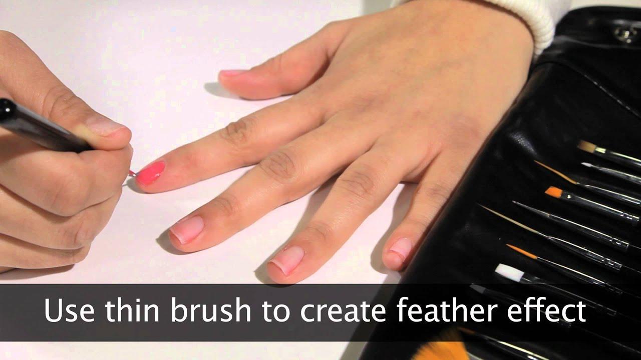 Mash Nails 15 Piece Nail Art Brush Kit Demonstration Video Youtube
