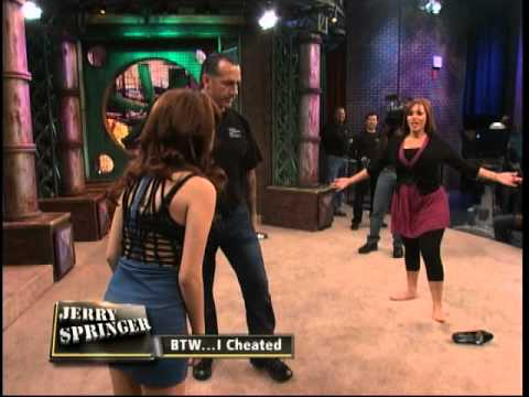 Jerry springer talkshow naked rumble can