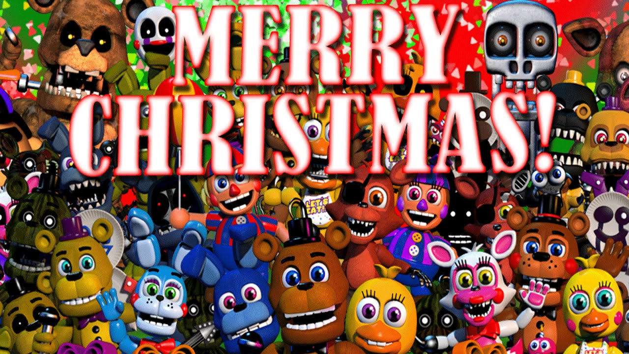 Five Nights at Freddys World: NEW CHRISTMAS UPDATE! NEW CHARACTERS ...