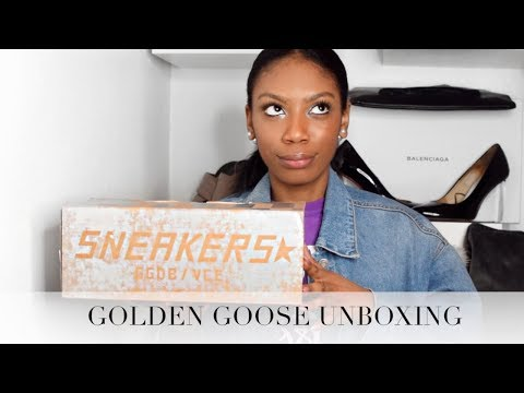 £300 FOR WORN TRAINERS  GOLDEN GOOSE SUPERSTAR A6 UNBOXING!