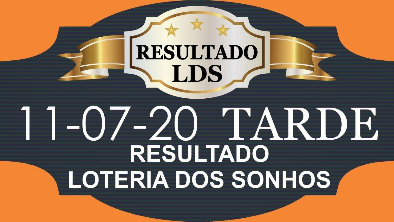Loteria dos Sonhos Dia 11 07 20 Tarde