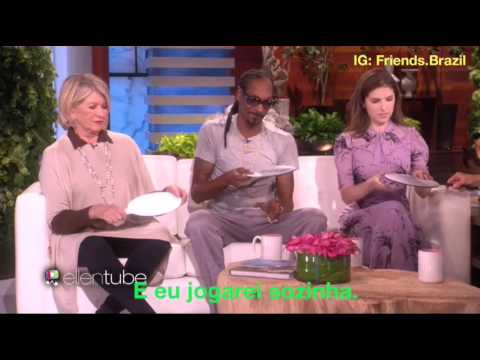 Martha Stewart, Snoop Dogg e Anna Kendrick na Ellen