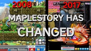 MapleStory has changed!!