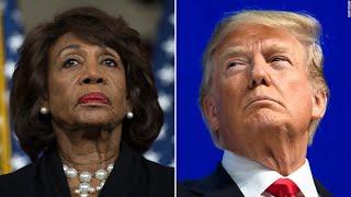 Saying she needs an IQ test, Trump hits Maxine Waters (again)