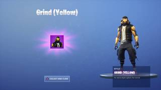 New GRIND YELLOW STYLE in Fortnite! | NIKE & JORDAN SKIN