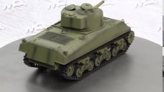 3898-1 - Carro Armato M4A3 Scala 1/16 Heng Long