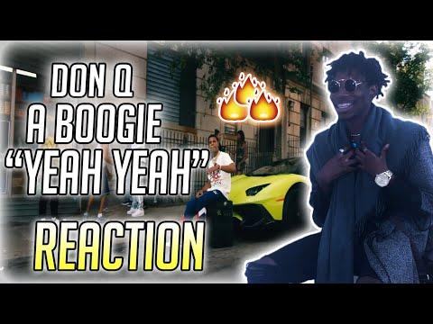 Don Q & A Boogie Wit Da Hoodie - Yeah Yeah (feat. 50 Cent & Murda Beatz) REACTION