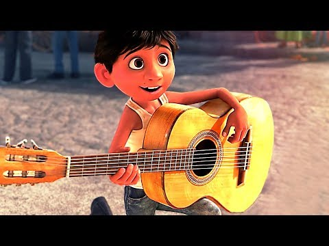 "Thumbnail: COCO ""Beautiful Guitar"" Movie Clip ✩ Animation, Disney (2017)"